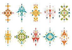 Vector Tribal elements Stock Photo