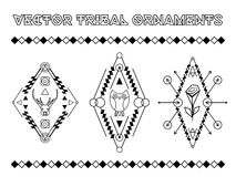 Vector Tribal Emblems Royalty Free Stock Image