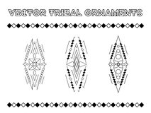Vector Tribal Emblems Stock Photography