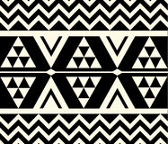 Vector Tribal Ethnic Pattern Royalty Free Stock Image
