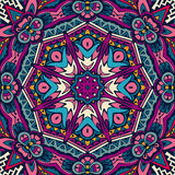 Vector Tribal Mexican ethnic seamless pattern Stock Photo
