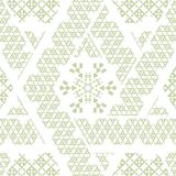 Vector Tribal Mexican ethnic seamless texture, pattern with stripes, geometrical triangles  Royalty Free Stock Photography
