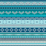 Vector Tribal Mexican ethnic seamless texture, pattern with stripes, geometrical triangles. Vintage boho art print Stock Images