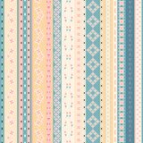 Vector Tribal Mexican ethnic seamless texture, pattern  Stock Photography