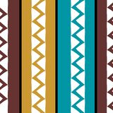 Vector tribal pattern with african ethnic drawing. Good for your textile fashion wrapping and print. Line maya aztec texture illustration geometric navajo retro vector illustration