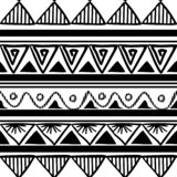 Vector tribal pattern with ethnic drawing in black and white. Good for your textile fashion wrapping and print. African line maya aztec texture illustration vector illustration