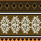 Vector tribal pattern with golden abstract hand drawn african style. Good for your textile fashion wrapping and print. Good for. Your textile fashion wrapping vector illustration