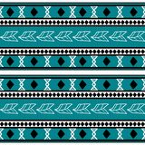 Vector tribal pattern with hand drawn aztec symbol and feather drawing style seamless. Good for your textile fashion wrapping and. Print african ethnic line vector illustration