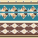 Vector tribal pattern with pastel colors african ethnic background. Good for your textile fashion wrapping and print. Line maya aztec texture illustration stock illustration