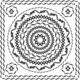 Vector tribal round. Vector composed by tribal circles and swirls Stock Images