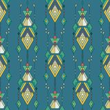 Tribal vintage ethnic seamless pattern. Aztec, mexican, navajo, african motif. Royalty Free Stock Images