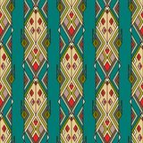 Tribal vintage ethnic seamless pattern. Aztec, mexican, navajo, african motif. Royalty Free Stock Photos