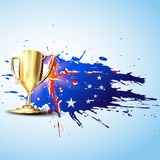 Vector trophy Stock Images