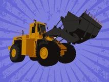 Vector truck Royalty Free Stock Photo