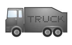 Vector truck Royalty Free Stock Image