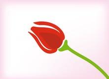 Vector tulpen Royalty-vrije Stock Afbeeldingen