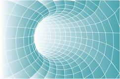 Vector tunnelachtergrond Stock Foto's
