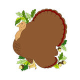 Vector turkey Royalty Free Stock Image