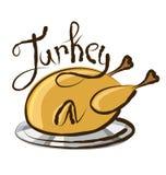 Vector Turkey Royalty Free Stock Photography