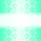 Vector turquoise wallpaper Royalty Free Stock Images