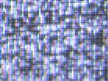 Vector TV screen,  lost signal. Noise, made from mosaic tiles Royalty Free Stock Photography