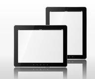 Vector Two tablet computers Stock Image