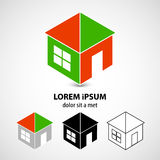 Vector two-tone home icon Royalty Free Stock Image