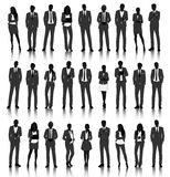 Vector UI Illustration Business People Concept Royalty Free Stock Photo