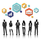 Vector UI Illustration Business People Concept stock illustration