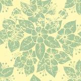 Vector uitstekend bloemen naadloos patroonelement. Stock Foto's