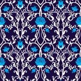 Vector uitstekend bloemenpatroon Retro naadloze textuur Royalty-vrije Stock Foto