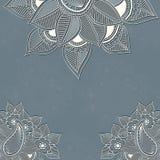 Vector uitstekende achtergrond met bloemenelementen royalty-vrije illustratie