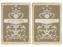 Vector Uitstekende Kaart royalty-vrije illustratie
