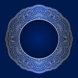 Vector uitstekende ronde ornamenten Royalty-vrije Stock Foto's