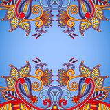 Vector uitstekende sierachtergrond Royalty-vrije Stock Foto's