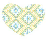 Vector Ukrainian national ornaments Stock Image