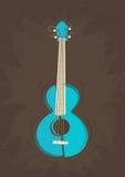 Vector ukulele guitar Stock Photo