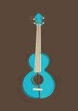 Vector ukulele guitar Stock Photos