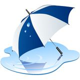 Vector umbrella. Stock Photography