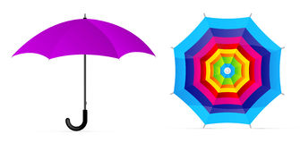 Vector umbrella Stock Images