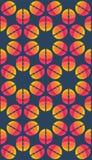 Vector umbrellas. Abstract seamless pattern design Stock Photos
