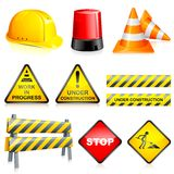 Vector Under Construction Royalty Free Stock Images