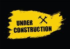 Vector under constructon Stock Photos