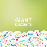Vector universal banner for your promotion. Stock Photos