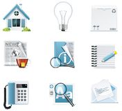 Vector universal website icons Stock Photography