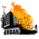 Vector urban art Stock Photos