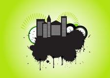 Vector urban grunge design Stock Photography