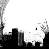 Vector urbano de la ciudad Foto de archivo