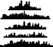 Vector of urbans illustration Royalty Free Stock Photo