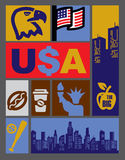 Vector USA Royalty Free Stock Image